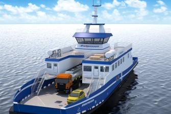New Hybrid Ferry in Denmark