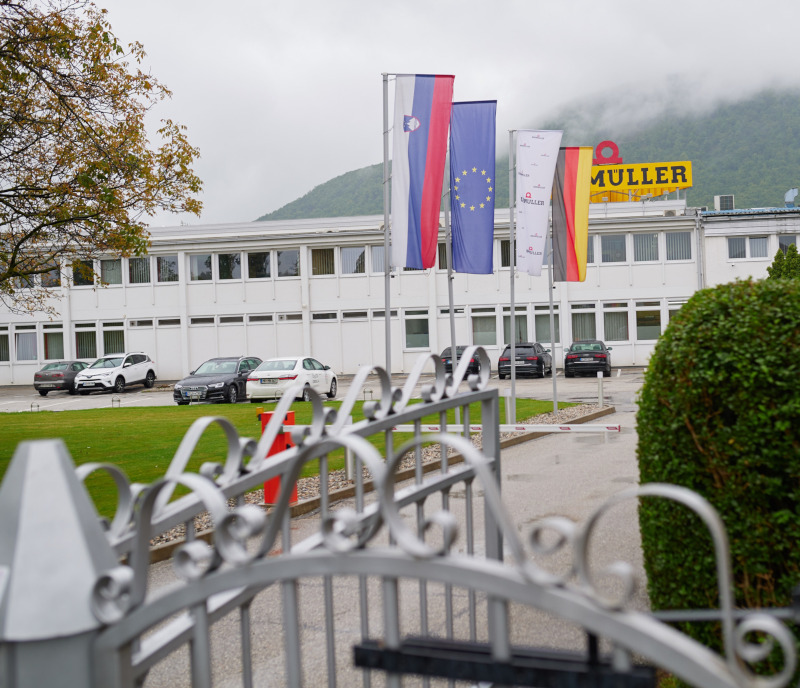Baumüller Dravinja is expanding its plant and commissions a new painting system