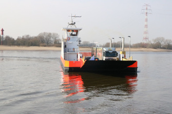 Quiet and Environmentally Friendly Across the Weser River